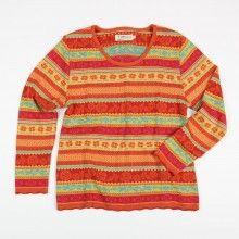 Pullover Rosalie - mango/bunt