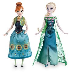 Anna and Elsa Dolls Summer Solstice Gift Set - Frozen Fever - 12'' | Disney Store