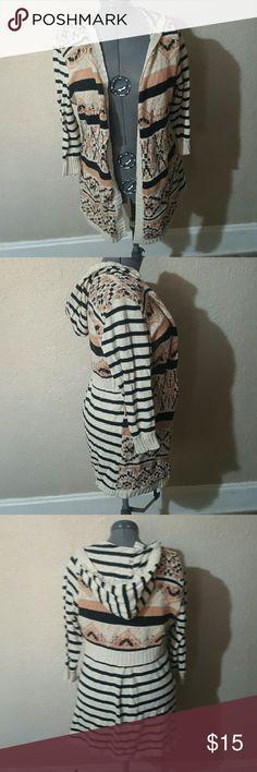 XL long sleeve tribal cardigan . American Rag Sweaters Cardigans