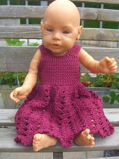 Crocheted Baby Doll Dress