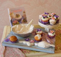Springtime Cupcakes Prep Board