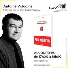 Rencontre avec Antoine Volodine au #SDL2015