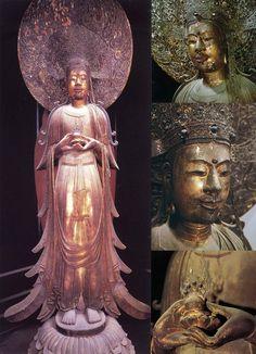 奈良 法隆寺 救世観音立像