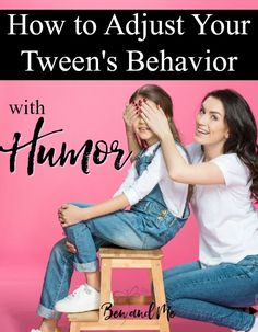 When kids reach middle school age, their attitudes begin to change. So, what can you do to help change  tween behavior? Try a littlehumor.
