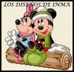 PDF Gráfico Punto de Cruz, Disney 60, Disney Punto de Cruz, Disney, Disney Cross Stitch Pattern