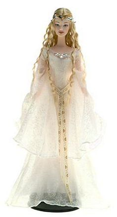Galadriel Barbie, She is gorgeous! For Michi's Barbie collection! Mattel Barbie, Barbie Dress, Barbie And Ken, Barbie Clothes, Barbie Style, Manequin, Beautiful Barbie Dolls, Barbie Collector, Barbie Friends