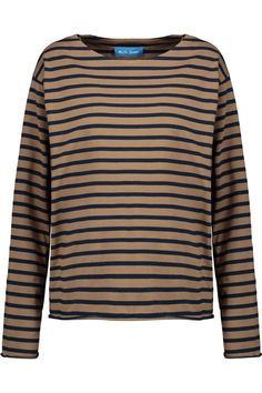 M.I.H JEANS Simple Mariniere Striped Cotton Top. #m.i.hjeans #cloth #top