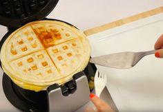 7 overraskende ting, du kan bruge dit vaffeljern til Crepe Recipes, Waffle Iron, Food Videos, Waffles, Brunch, Lunch Box, Snacks, Dinner, Breakfast