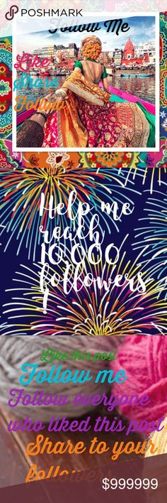 Follow Me Game  Help me reach 10,000 Follower!  Like, follow, and share, share, share!!!! Coach Jackets & Coats