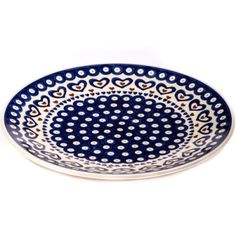 Dinner plate from our polish pottery range.