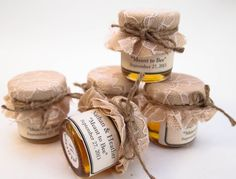 Wedding Favor Mini Mason Jar Sample Jars pick 5 by CustomLoveGifts