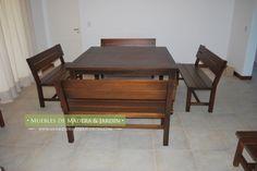 Mesa con Banco