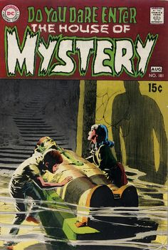 House of Mystery 181. Cover art by Neal Adams. #comic #horror