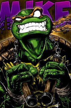 Michelangelo • Teenage Mutant Ninja Turtles