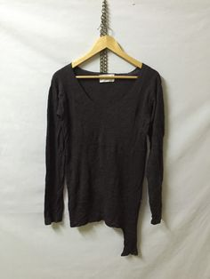 A personal favourite from my Etsy shop https://www.etsy.com/listing/295255771/mihara-yasuhiro-hand-knit-jumper-armpit