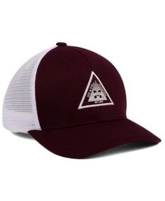Top of the World Mississippi State Bulldogs Present Mesh Cap - Red Adjustable