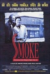Harvey Keitel and a great cast including William Hurt and Forest Whitaker star in the cool 1995 indie drama Smoke! Stockard Channing, William Hurt, Paul Auster, Forest Whitaker, Brooklyn, O Drama, Drama Film, Nostalgia, Cinema Film