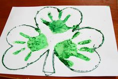 The Perales Family : Saint Patrick's Craft