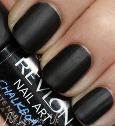 Revlon Nail Art CHALKBOARD editon. Use chalk and erase again and again!