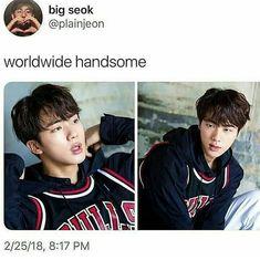 Worldwide handsome has a name: Kim Seokjin