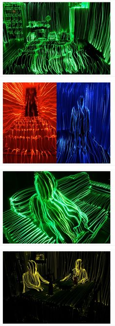 Topographical Light Paintings By Janne Parviaine