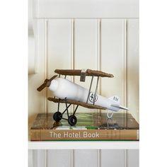 Rustic Rattan Double Decker Plane