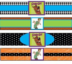 Scooby Doo Party- Bottle Labels