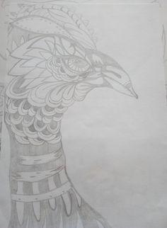 Mandala, Bleistiftzeichnung