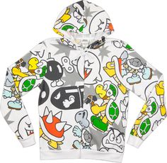 Mario Villain Hoodie from 80sTees #gaming