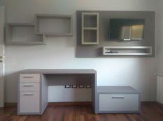 Catálogo   Room & Kitchen Designs   Comedor y Living   Paneles de TV Decor, Furniture, Corner Desk, Home Decor, Desk