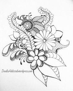 doodler's block drawing by Heidi Denney