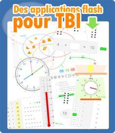 Des applications flash pour TBI/TBN