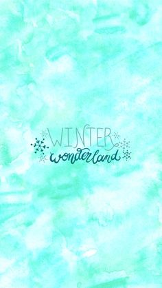 #winter #winterwonderland #watercolor #wallpaper #fondos #quote