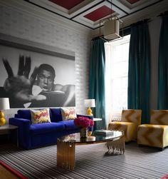 17 Rutland Apartments: Ground floor: 1 bed flat sleeps 4  #blog #interiordesign #interiors
