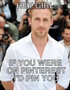 Ryan Gosling Hey Girl #funny #ryangosling