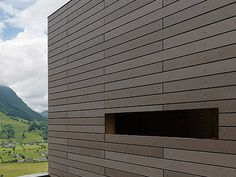 Dry-laid cement and fibre cement sheet [öko skin] RIEDER by KALIKOS INTERNATIONAL