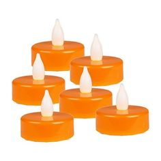 CYS EXCEL LED240 pcs Halloween Batterypowered Flameless LED Tealight Candles Pack of 240 pcs >>> Want additional info? Click on the image.