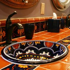 Mexican Tile, Saltillo Tile, Talavera Tile - Mexican Tile Designs