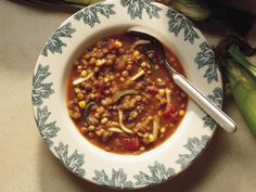 Lentil-Vegetable Soup - promise my last from the Betty Crocker site!