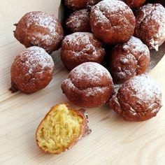 Formine e Mattarello: Frittelle di carnevale (fritòe)