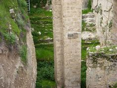 At the Pool of Bethesda Jesus healed a man who had been ill for 38 years.