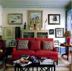charming sitting room ~ Chester Jones design