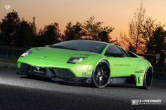 Tricked Out Showkase - A Custom Car   Sport Truck   SUV   Exotic   Tuner   Blog: Sexy Liberty Walk Lamborghini Murcielago