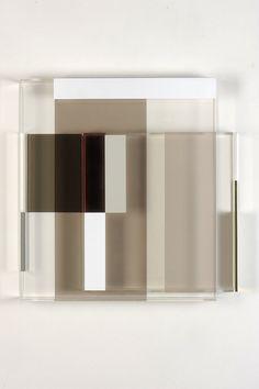 'Fragments by maria dukers Modern Artwork, Contemporary Art, Abstract Sculpture, Sculpture Art, Wall Installation, Wall Sculptures, Glass Art, Wall Decor, Fine Art