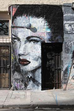 Street Art Par Rone - San Francisco (CA)