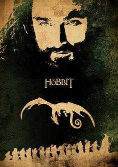 Le Seigneur des anneaux la trilogie et The Hobbit par TopPoster