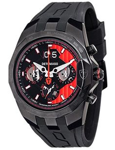 DETOMASO DT-YG103-A Armbanduhr - DT-YG103-A - http://uhr.haus/detomaso/black-red-detomaso-adrenaline-junkie-herren-xxl
