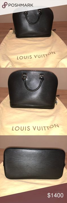 Louis Vuitton Leather Alma Pm Wonderful bag . No scratches and tears . Like new .   I want to Trade with Chole Medium Marcie , Celine Royal Medium Trotteur , Channel or Givenchy Medium Antigona Bag. Louis Vuitton Bags Satchels