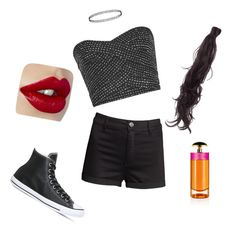 """""""Festival ready"""" by victoriasolis-1 on Polyvore featuring H&M, Reiss, Converse, Rapunzel Of Sweden and Prada"""