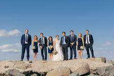 Avalon Wedding Florist - A Garden Party florist - The More We See photography - Windrift Hotel - blush flowers - succulents - anemones - fall wedding - beach wedding - white pumpkins - canopy